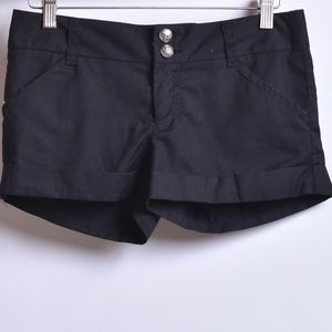 MM Unplugged Cuffed Shorts, Sz 0